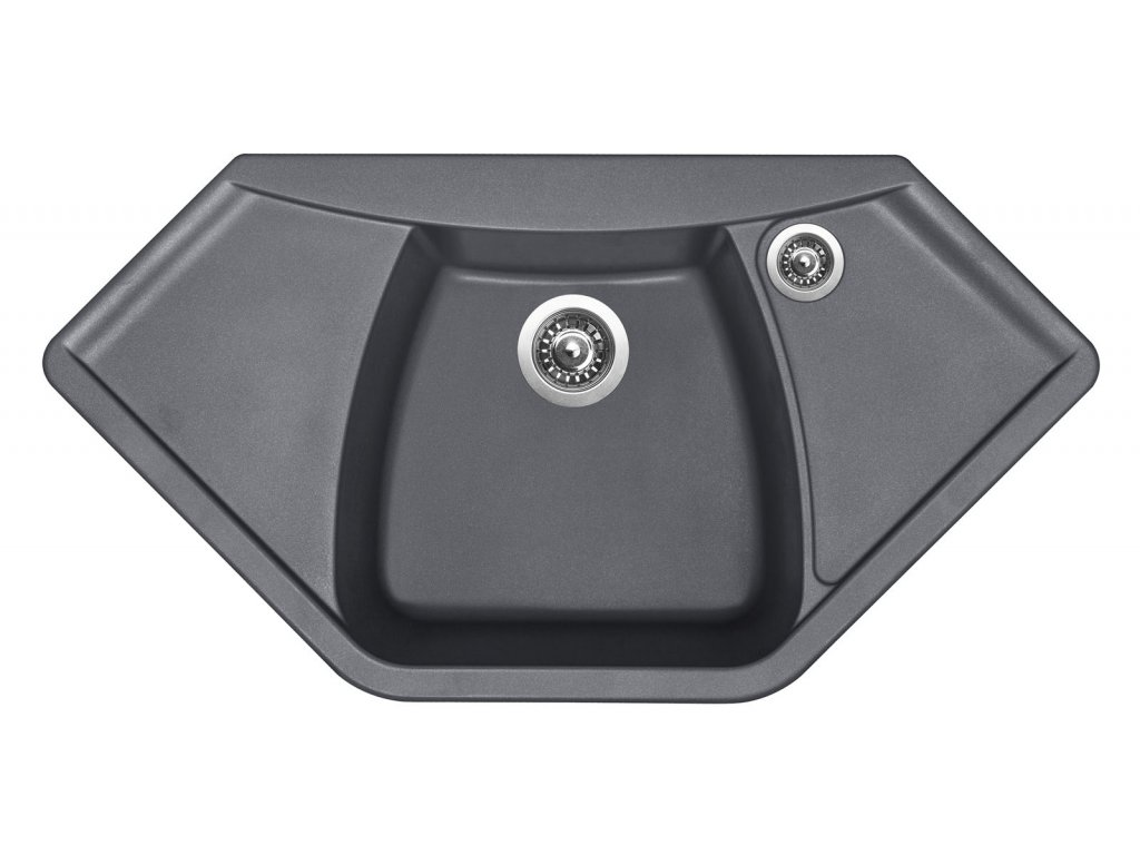 Granitový dřez Sinks NAIKY 980 Titanium