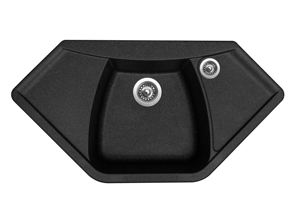 Granitový dřez Sinks NAIKY 980 Granblack