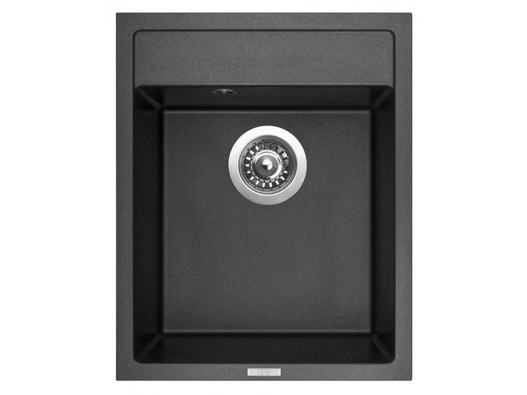 Granitový dřez Sinks CLASSIC 400 Metalblack