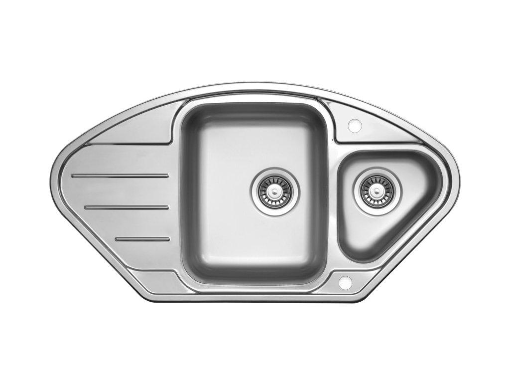 Nerezový dřez Sinks LOTUS 945.1 V 0,8mm leštěný
