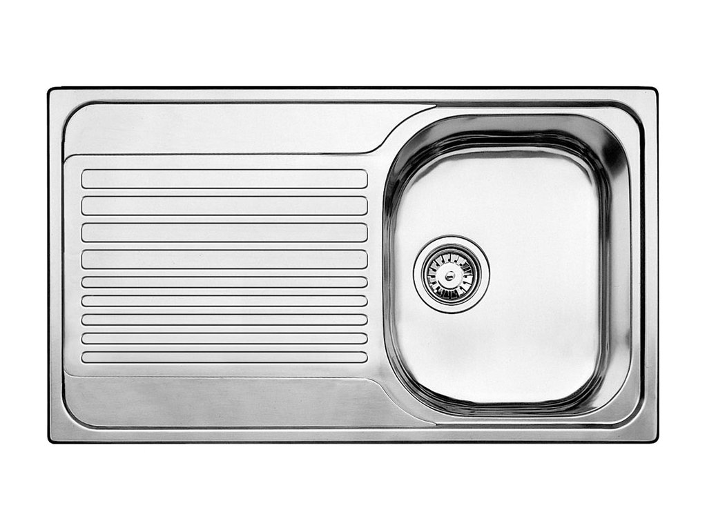 Nerezový dřez Blanco TIPO 45 S Nerez kartáčovaný oboustranné provedení