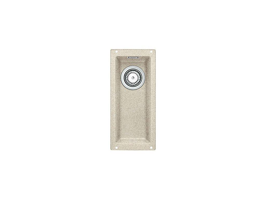 Granitový dřez Blanco SUBLINE 160-U Silgranit písek  bez táhla 513395