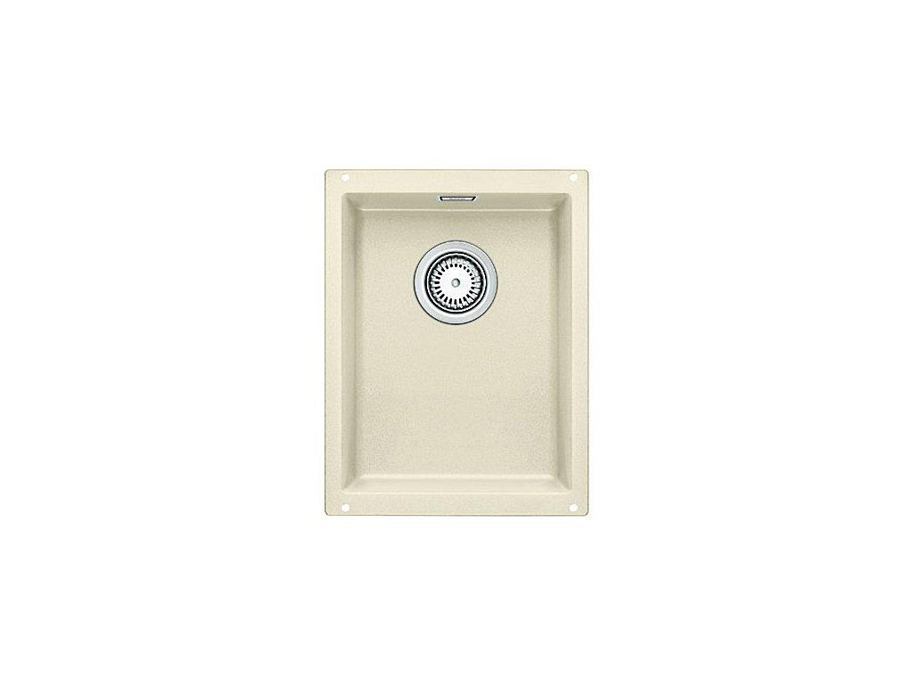 Granitový dřez Blanco SUBLINE 320-U Silgranit jasmín  s táhlem 513403