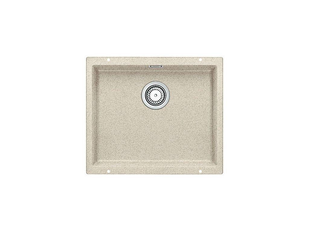 Granitový dřez Blanco SUBLINE 500 U Silgranit písek  s táhlem 513409
