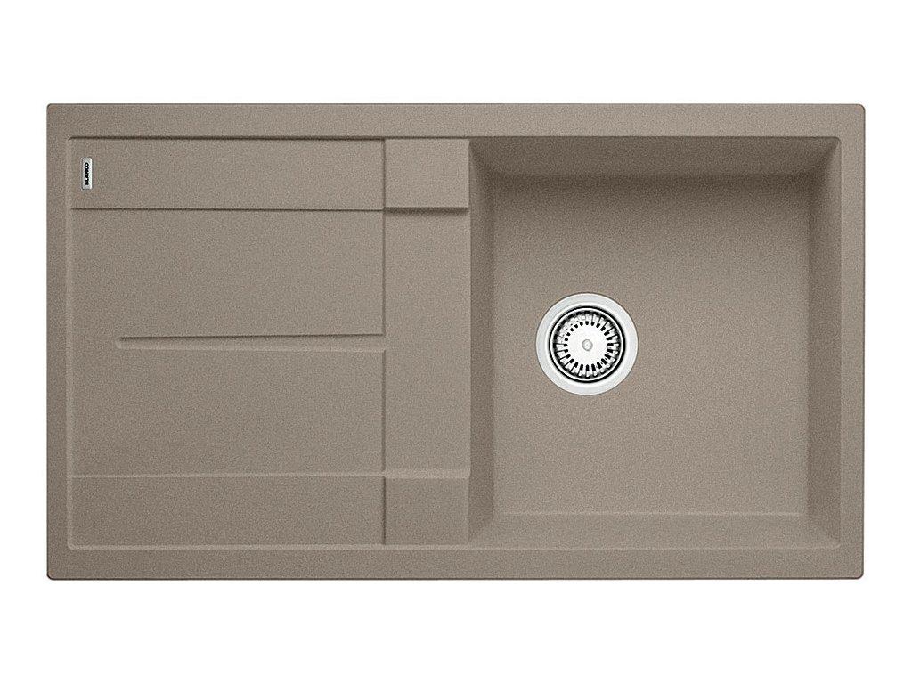 Granitový dřez Blanco METRA 5 S Silgranit tartufo oboustranné provedení 517349