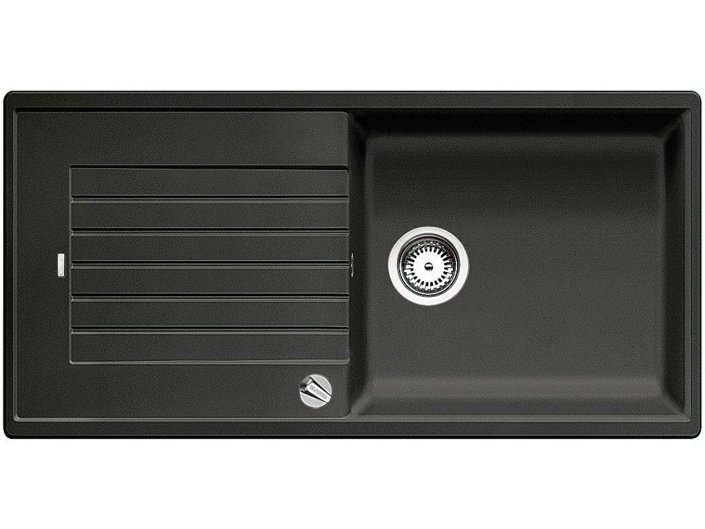 Granitový dřez Blanco ZIA XL 6 S Silgranit antracit oboustranné provedení s excentrem 517558