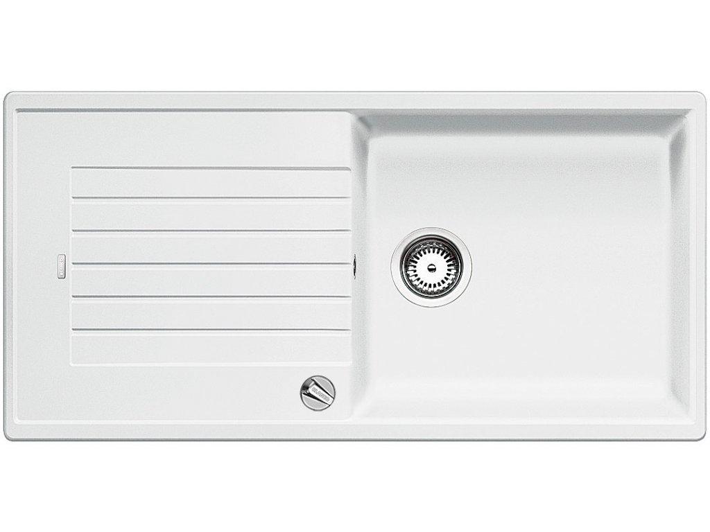 Granitový dřez Blanco ZIA XL 6 S Silgranit bílá oboustranné provedení s excentrem 517561