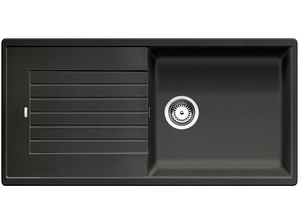 Granitový dřez Blanco ZIA XL 6 S Silgranit antracit oboustranné provedení 517568