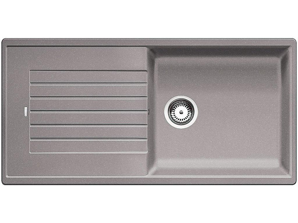 Granitový dřez Blanco ZIA XL 6 S Silgranit aluminium oboustranné provedení 517569