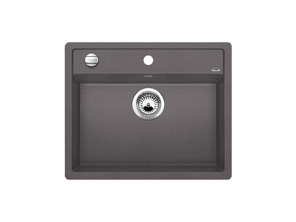 Granitový dřez Blanco DALAGO 6 F Silgranit šedá skála s excentrem 518851