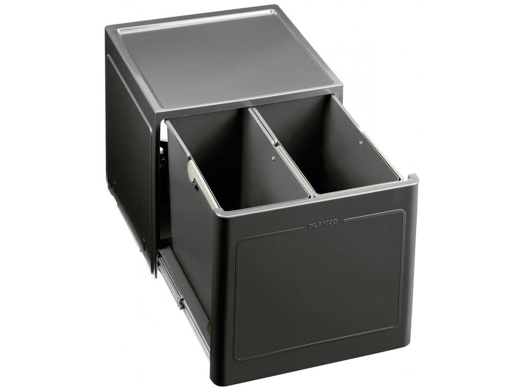 Odpadkový koš Blanco BOTTON PRO 45/2 automatické otevření dvířek