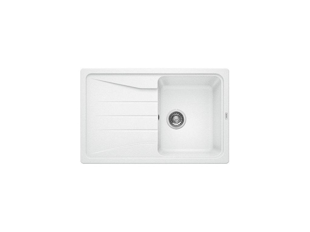 Granitový dřez Blanco SONA 45 S Silgranit bílá oboustranné provedení 519665