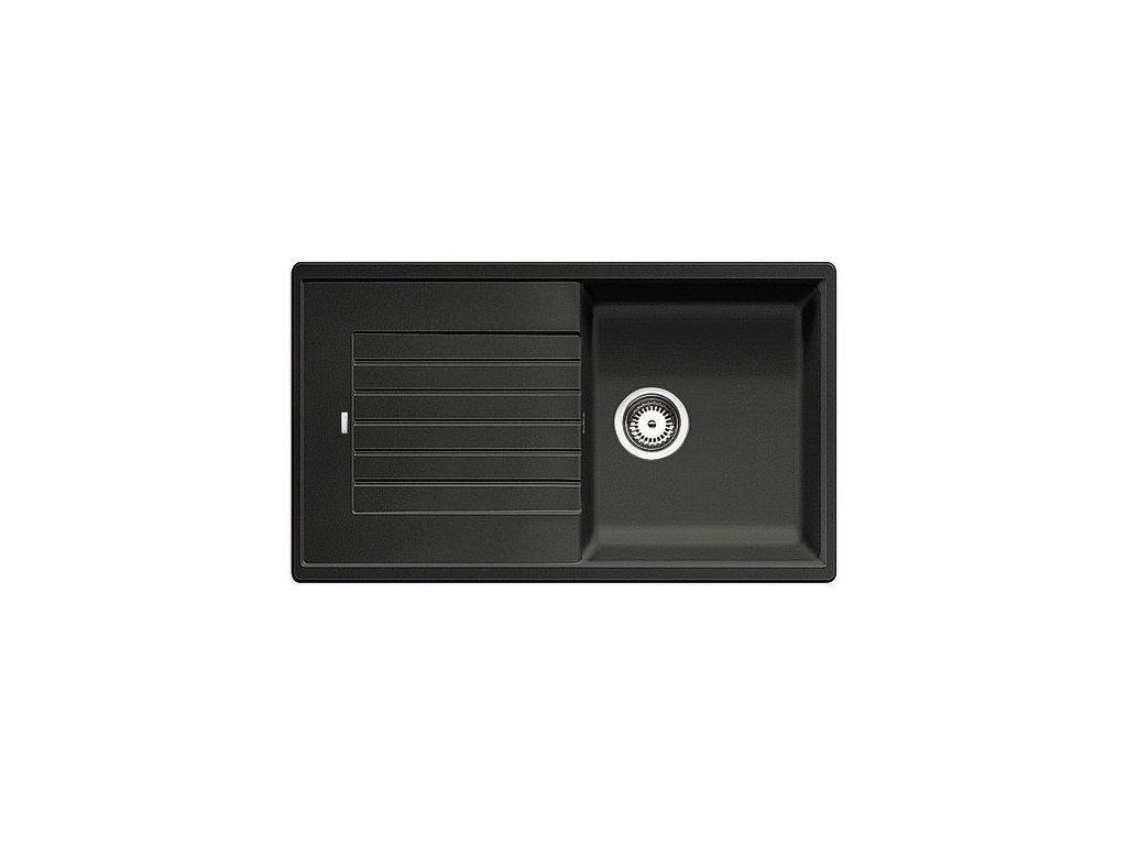 Granitový dřez Blanco ZIA 5 S Silgranit antracit oboustranné provedení bez excentru 520511