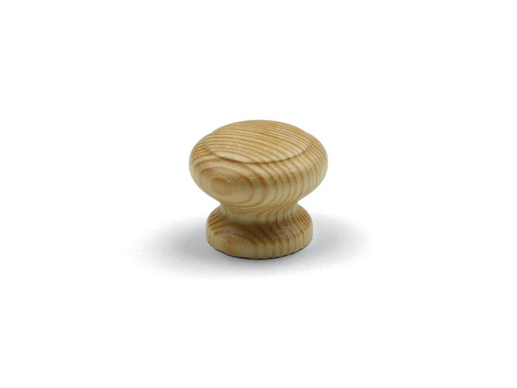 Nábytková knopka Jura borovice lak