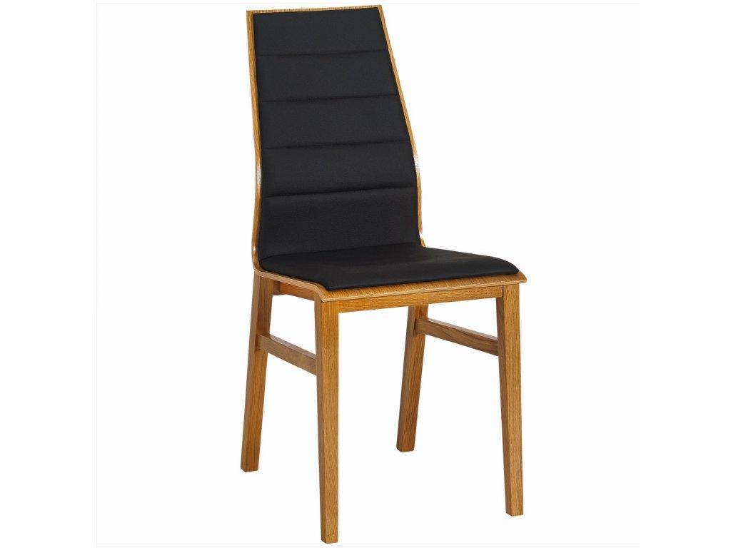 Dřevěná židle Paged Linea 2 (Skupina čalounění Skupina 4)