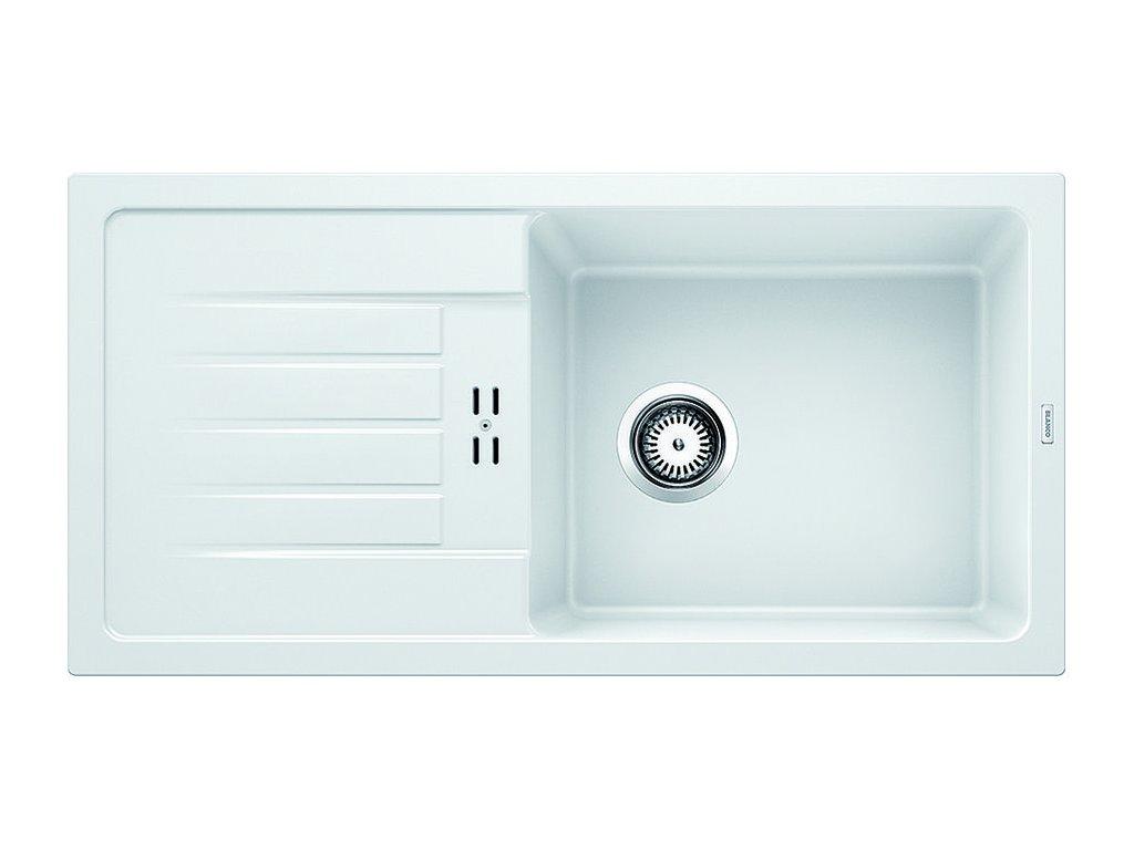 Granitový dřez Blanco FAVUM XL 6 S Silgranit bílá oboustranné provedení 524235