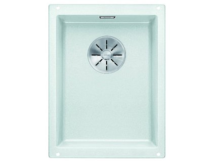 Granitový dřez Blanco SUBLINE 320-U InFino Silgranit bílá bez táhla 523410