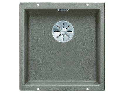 Granitový dřez Blanco SUBLINE 400 U InFino Silgranit tartufo bez táhla 523429