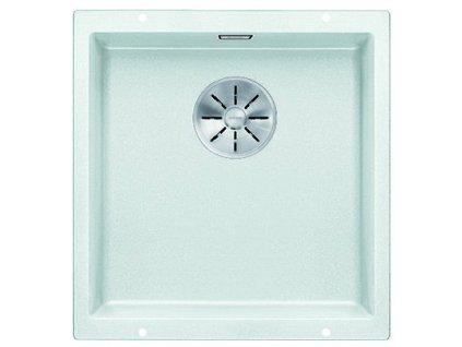 Granitový dřez Blanco SUBLINE 400 U InFino Silgranit bílá bez táhla 523426