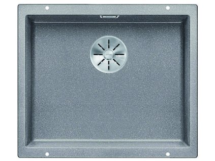 Granitový dřez Blanco SUBLINE 500 U InFino Silgranit aluminium bez táhla 523434