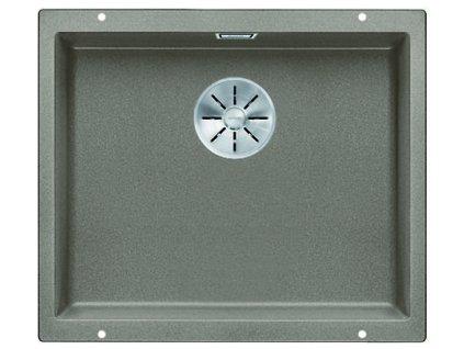 Granitový dřez Blanco SUBLINE 500 U InFino Silgranit tartufo bez táhla 523439