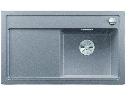Granitový dřez Blanco ZENAR 45 S InFino Silgranit aluminium dřez vpravo s excentrem bez příslušenství 523786
