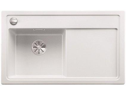 Granitový dřez Blanco ZENAR 45 S InFino Silgranit bílá dřez vlevo s excentrem bez příslušenství 523854
