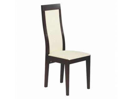 Dřevěná židle Paged Bergamo (Skupina čalounění Skupina 4)
