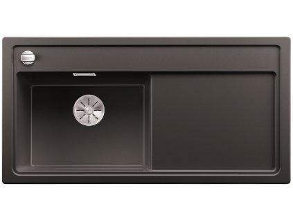 Granitový dřez Blanco ZENAR XL 6 S InFino Silgranit antracit dřez vlevo s exc. bez příslušenství 523994