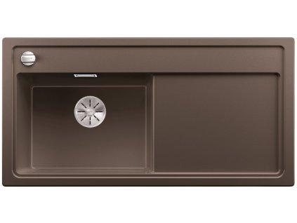 Granitový dřez Blanco ZENAR XL 6 S InFino Silgranit káva dřez vlevo s exc. bez příslušenství 524011