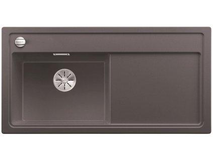 Granitový dřez Blanco ZENAR XL 6 S InFino Silgranit šedá skála dřez vlevo s exc. bez příslušenství 523996