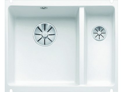 Blanco SUBLINE 350/150 U InFino Keramika zářivě bílá dřez vlevo bez excentru