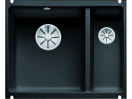 Blanco SUBLINE 350/150 U InFino Keramika černá dřez vlevo bez excentru