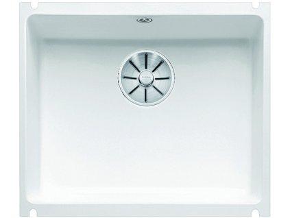 Blanco SUBLINE 500 U InFino Keramika zářivě bílá bez excentru
