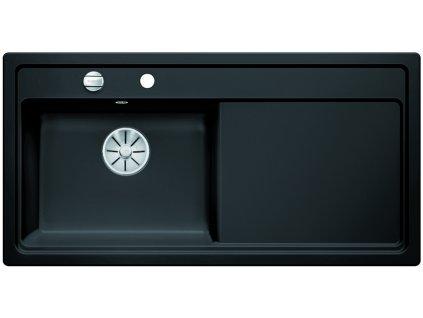Blanco ZENAR XL 6 S InFino Keramika černá dřez vlevo s excentrem