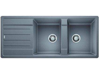 Granitový dřez Blanco LEGRA 8 S Silgranit aluminium oboustranné provedení 523164