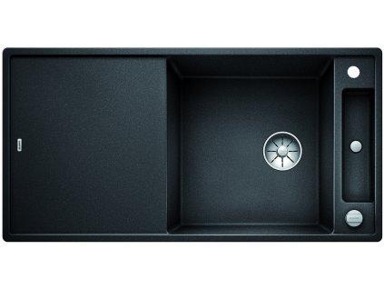 Granitový dřez Blanco AXIA III XL 6 S InFino Silgranit antracit dřev.kráj.deska oboustr.prov. s exc. 523500