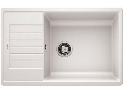Granitový dřez Blanco ZIA XL 6 S Compact silgranit bílá oboustranné provedení bez excentru 523277