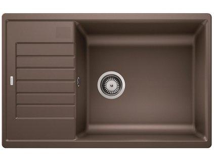 Granitový dřez Blanco ZIA XL 6 S Compact silgranit káva oboustranné provedení bez excentru 523282