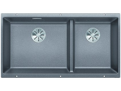 Granitový dřez Blanco SUBLINE 480/320 U InFino Silgranit aluminium dřez vlevo bez táhla 523586