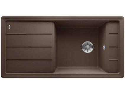 Blanco FARON XL 6 S InFino Silgranit káva oboustranný
