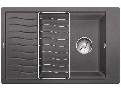 Blanco ELON XL 6 S InFino Silgranit šedá skála obous. bez exc. + přísluš