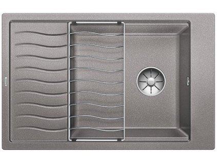 Blanco ELON XL 6 S InFino Silgranit aluminium obous. bez exc. + přísluš