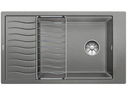 Blanco ELON XL 8 S InFino Silgranit aluminium oboustr. bez exc. + přísluš.