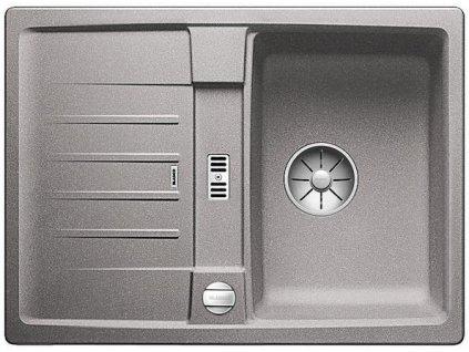 Blanco LEXA 40 S InFino Silgranit aluminium oboustranný s excentrem