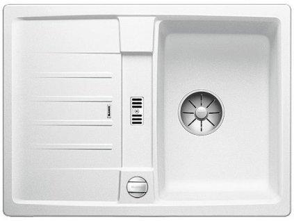Blanco LEXA 40 S InFino Silgranit bílá oboustranný s excentrem