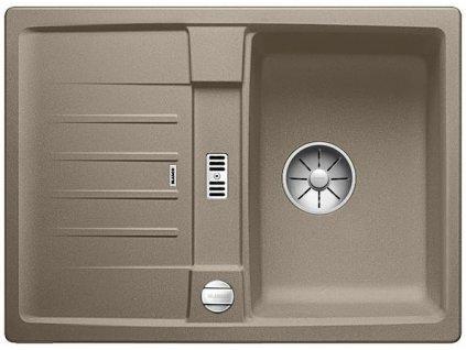 Blanco LEXA 40 S InFino Silgranit tartufo oboustranný s excentrem