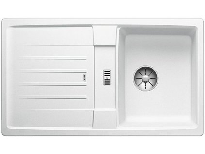 Blanco LEXA 45 S InFino Silgranit bílá oboustranný bez excentru