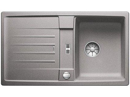 Blanco LEXA 45 S InFino Silgranit aluminium oboustranný s excentrem