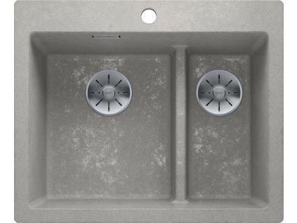 Blanco PLEON 6 Split InFino Silgranit Beton-Style